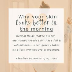 Ever noticed your skin looks a whole load better in the morning? That even before skincare can work its magic, during those 10 precious moments between waking and showering you have supermodel skin worthy of a campaign shoot? This is why... it's all thanks to your dermal fluids. Read on to understand whether face yoga can help prolong your supermodel skin tone...