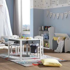 Vintage Dje ji stol Star u kombinaciji sive i bijele boje za sve mini zvjezdice Maksimalna nosivost