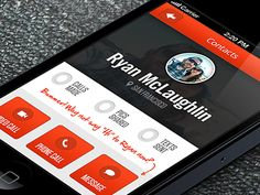 Updated Contact Detail Page  by Ryan McLaughlin