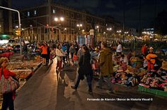 Comercio callejero. / Street trading.