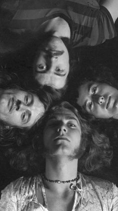 Jimmy Page (guitarist), Robert Plant (lead vocalist), John Bonham (drums), John Paul Jones (keyboard)