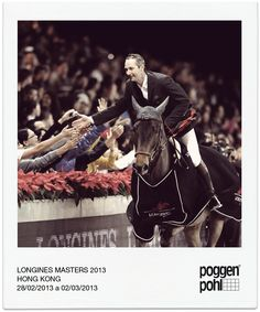 #Patrice Delaveau wins the Prix #Poggenpohl @ Hong Kong Longine Masters 2013