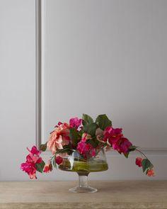 Morning Dahlias Faux Floral Arrangement by John-Richard Collection at Horchow.