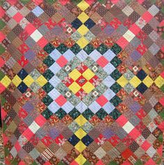 Barbara Brackman's MATERIAL CULTURE: Tessellations 2: Four-Sided Shapes