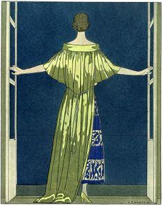 Magazine Illustration, Fashion Illustration Sketches, Art And Illustration, Art Deco, Art Nouveau, Fashion History, Fashion Art, Womens Institute, Roman Candle