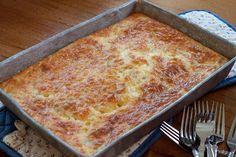 Chile & Cheese Egg Bake