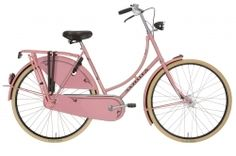 Hmmm...I could use a pink bicycle in my collection.