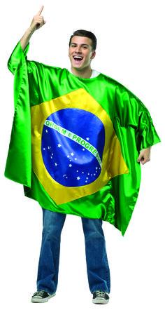 brazil flag tunic