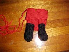 Free Santa Doll Knitting Pattern
