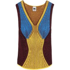 Designer Clothes, Shoes & Bags for Women Knitwear Fashion, Knit Fashion, Sleeveless Jumper, How To Purl Knit, Knitting Designs, Missoni, Crochet Clothes, Pretty Outfits, Pullover