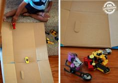 Simple Play with a Ramp | Kids Activities Blog
