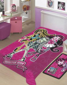 Cobertor Monster High