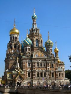 The Church of the Savior on Spilled Blood (Khram Spasa na Krovi) is one of the main Russian Orthodox cathedrals of St. Petersburg.