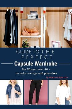 See how many different outfits you can make from a small closet.