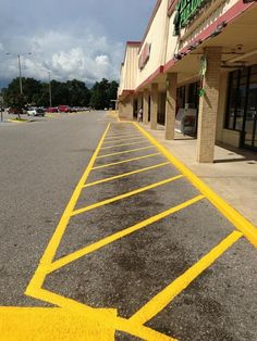 Line Striping Recent Work