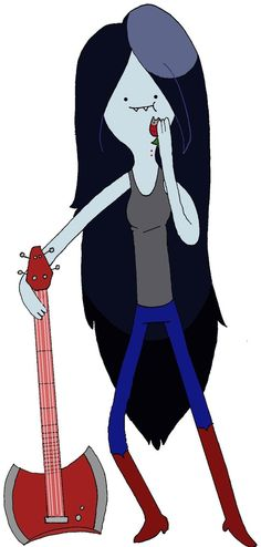 Marceline the Vampire Queen by ~Katau on deviantART