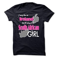 South African Ireland T-Shirts, Hoodies. BUY IT NOW ==► https://www.sunfrog.com/States/South-African-Ireland.html?id=41382