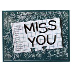 Designer Favorites Kit - Volume 1: Miss You card