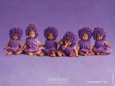 I love Anne Geddes pictures and purple is my favorite color. Purple Baby, Purple Love, All Things Purple, Shades Of Purple, Purple Flowers, Purple Stuff, Purple Lilac, Lavender Blue, Fall Flowers