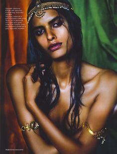 Lakshmi Menon by Prabuddha Dasgupta for Vogue Italia, 2007