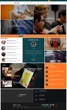 Newday Stunning 11 in 1 Bootstrap HTML Template for Multipurpose Blogs, Magazine Newspapers Website Download.