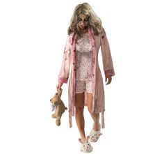The Walking Dead Little Girl Zombie Nightgown Costume Adult