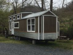 Cabin Tiny House Cottage Home On Wheels Park Model 2 Bedroom