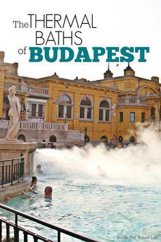 Dit bad was lekker warm en daarbinnen waren nog een stuk of honderd baden zowel warm als heel koud