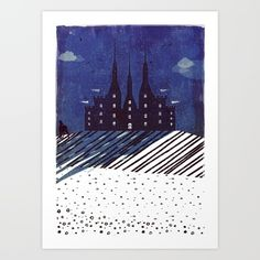 Collect your choice of gallery quality Giclée, or fine art prints custom trimmed by hand in a variety of sizes with a white border for framing. Castle On The Hill, Special Deals, Original Art, Fine Art Prints, Night, Gallery, Frame, Picture Frame, Roof Rack
