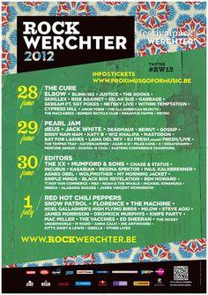 Rock Werchter 2012 - History - Rock Werchter 2015