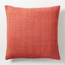 Home Accessories and Pillows on Sale | west elm   $44  sale price  $19  silk hand-loomed pillow  / poppy