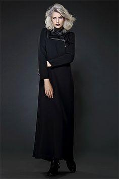 Deri Garnili Elbise
