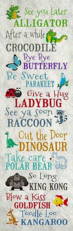 Such cute sayings for the classroom! See You Later Alligator by Summer Snow The Words, See You Later Alligator, Kids And Parenting, Summer Snow, Activities For Kids, Funny Quotes, Smile Quotes, Inspirational Quotes, Positivity
