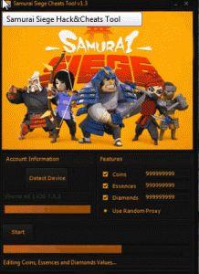 Lavorare Samurai Siege Hack Trucchi Strumento inosservato free download è sicuro
