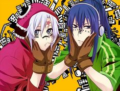 Tags: Anime, Fanart, D.Gray-man, Allen Walker, Yuu Kanda