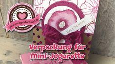 Tutorial: Verpackung für Mini-Jogurette mit Produkten von Stampin' Up!