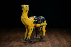 Antique child's #rocking #camel, available at #Houston #Mecox #interiordesign #MecoxGardens #furniture #shopping #home #decor #design #room #designidea #vintage #garden