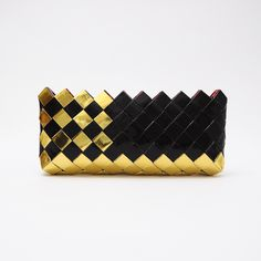 dimensions: 29cm x 13cm Handmade Clutch, Handmade Bags, Mexican Candy, Woven Bags, Cookie Packaging, Paper Weaving, Modular Origami, Chip Bags, Icecream Bar
