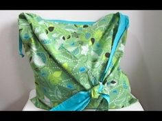 How to Sew an Easy.Simple Shoulder Tote Bag (Tutorial) - It's a Cinch!