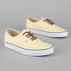 Vans Authentic CA (Brushed Twill) Pale Banana