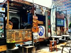 Food trailer in Austin
