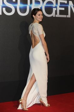 Shailene Woodley Attend The Insurgent Premiere At Odeon Leicester Square In London