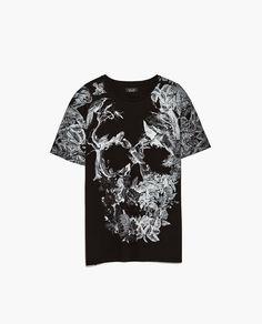 Image 6 of SKULL T-SHIRT from Zara Camiseta 429c260ff9e