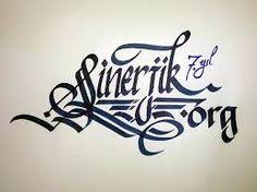 Resultado de imagen para turk kaligrafi