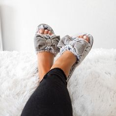 I've got a date tonight with my @prettyyoulondon slippers & trash TV. Shop:  http://⁠liketk.it⁠2oELQ