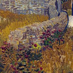Farmhouse in Provence (detail) ~ Vincent van Gogh