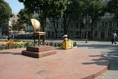 The Twelve Chairs monument in Odessa (Ukraine) 2 - Chair - Wikipedia