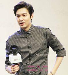 Lee Min Ho - OSIM Event In Shanghai 140910