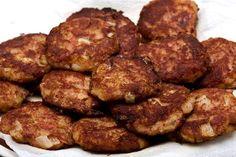 Okazuya-Style Corned Beef Hash Patties