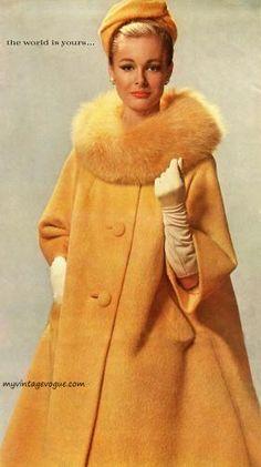 Carmen Dell'Orefice wearing Forstmann 1960